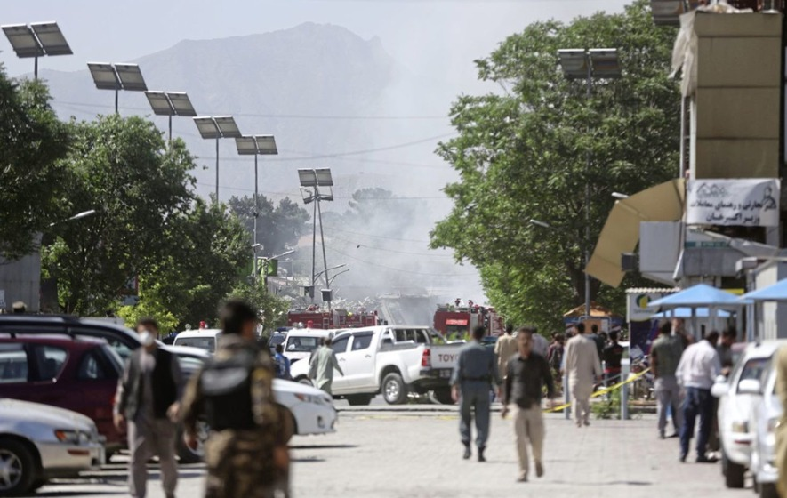 80 killed as suicide truck bomb hits diplomatic sector in Kabul