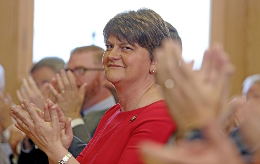 Newton Emerson: Arlene is starting to wobble about standing aside