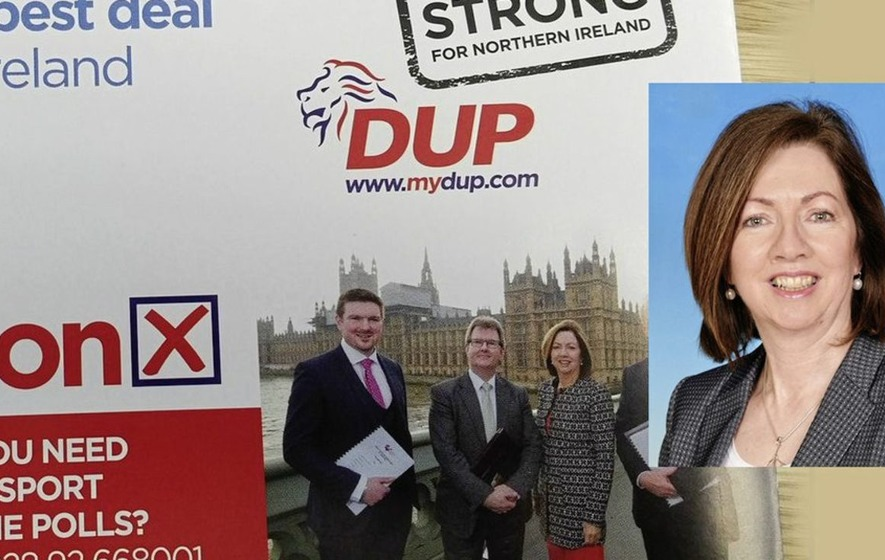 DUP had 'no permission' to use chief exec image says council