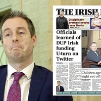 DUP Irish funding U-turn on Twitter 'inappropriate' says campaigner