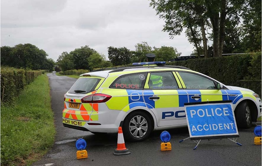 Road worker dies after being crushed by machinery