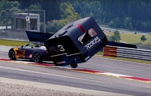 Red Bull F1 drivers Max Verstappen and Daniel Ricciardo have tried their hand at caravan racing