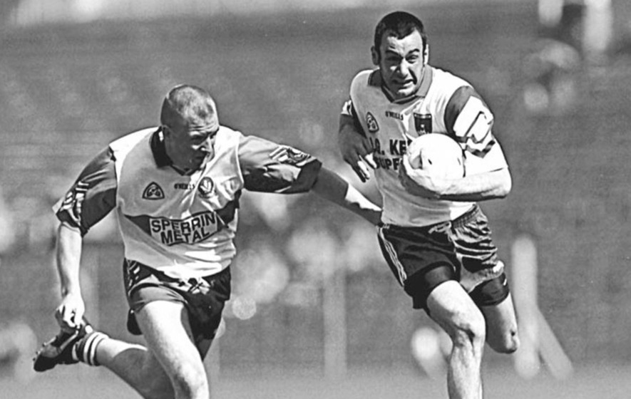 In The Irish News on June 2, 1997: All-Ireland favourites Derry lucky to avoid defeat to Monaghan in Clones