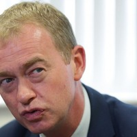 Tim Farron and Andrew Neil could not stop talking over each other during the Andrew Neil Interviews