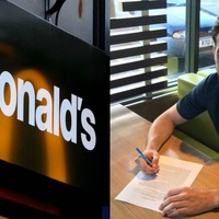 This club completed their latest transfer in a branch of McDonald's