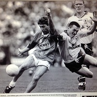 Shoulders and silverware: Conor Deegan and John Rafferty recall the Armagh versus Down derby battles of the 1990s