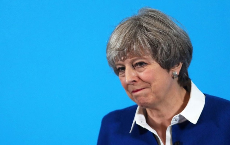 Song dubbing Theresa May a 'liar' inside top five of UK charts
