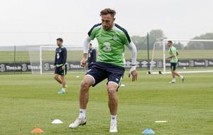 Richard Keogh urges Republic of Ireland to finish season on a high