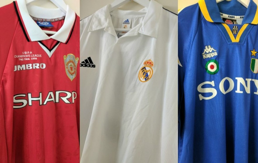 5 of the greatest Champions League winning shirts from finals gone by