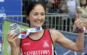 Catherine Whoriskey scores a home win in Derry marathon