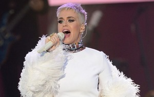 Katy Perry calls love 'our greatest power' at Manchester benefit concert