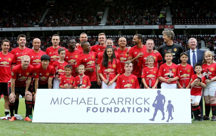 Michael Carrick's name misspelled on teamsheet for his own testimonial