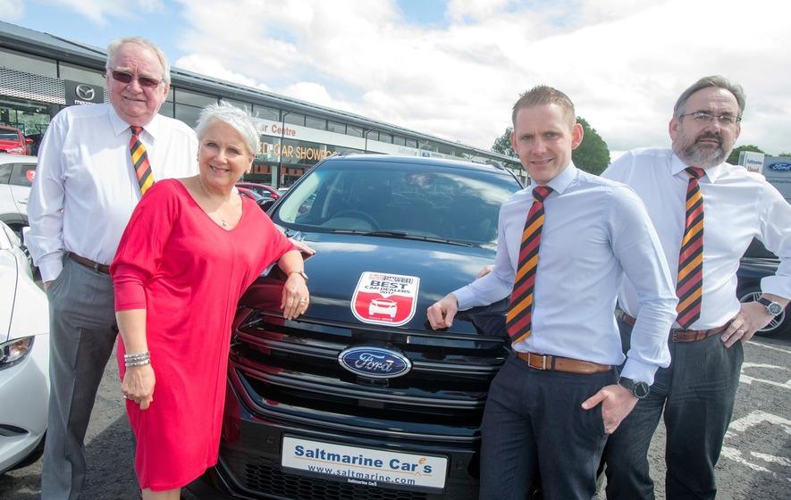 Saltmarine ranked as top Northern Ireland dealer - The Irish News