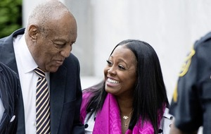 Bill Cosby arrives at court for sex assault trial