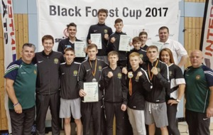 Ulster High Performance team among the medals at the Black Forest Cup