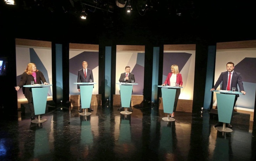 Televised debate dominated by Brexit and border poll