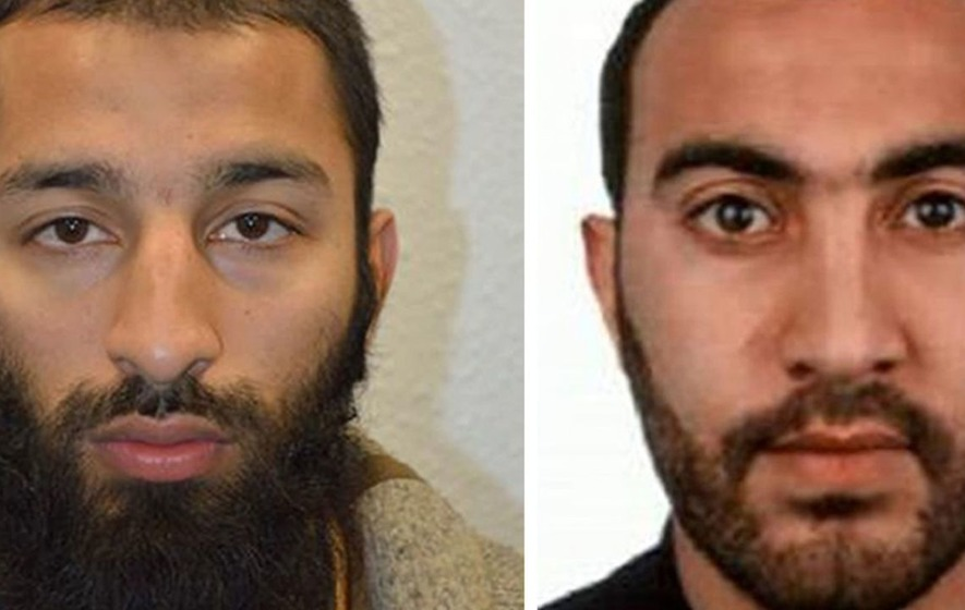 Two of the London Bridge/Borough Market attackers from Barking - Third man named