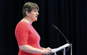 Arlene Foster urged to make unequivocal rejection of loyalist paramilitary support