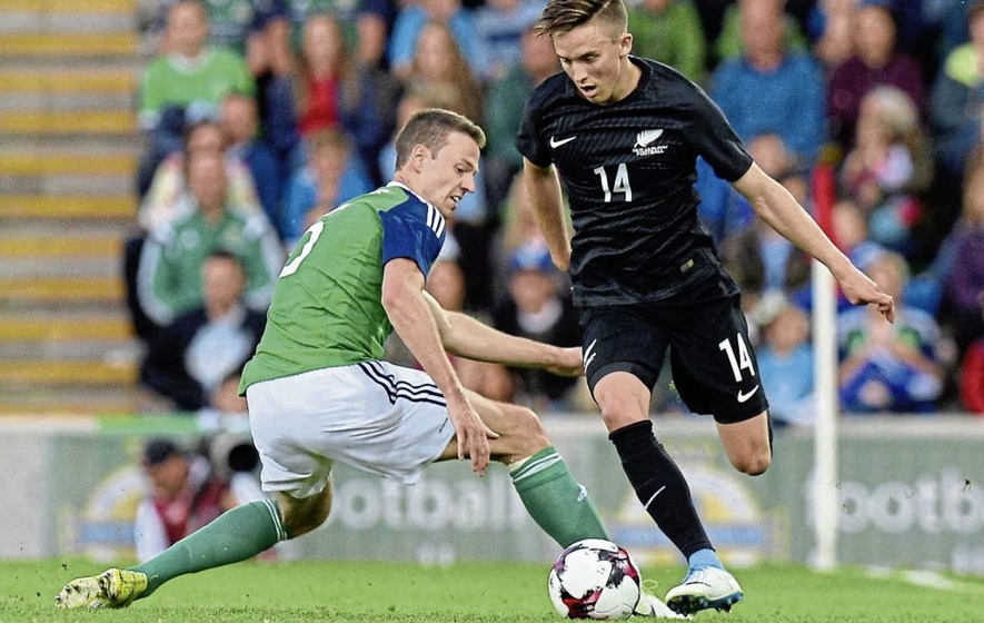 Michael O'Neill tipping Jonny Evans as management material