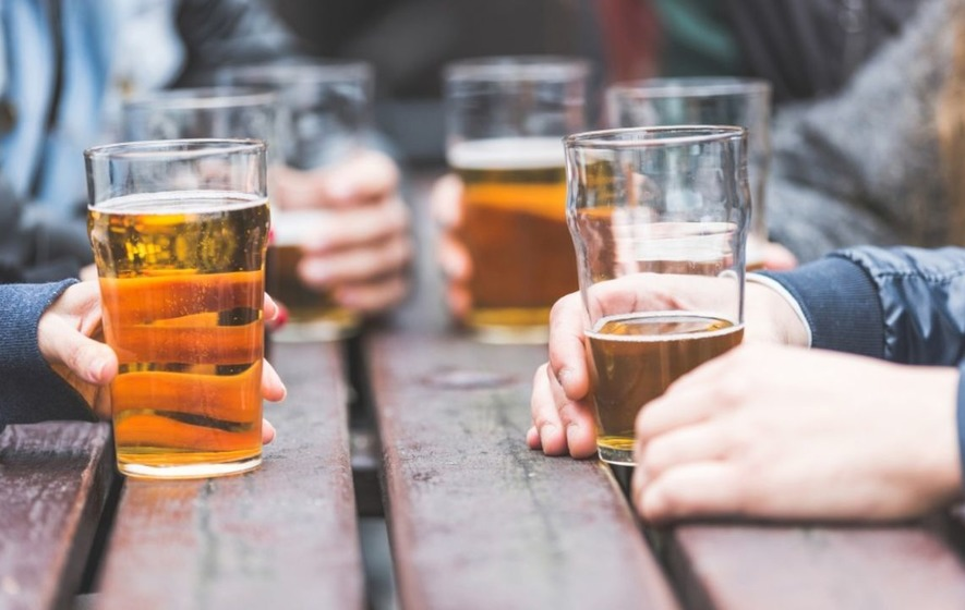Drinking more than recommended limit can harm your brain, study suggests