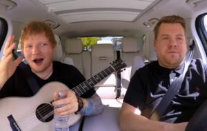 Ed Sheeran wins Maltesers battle with James Corden in Carpool Karaoke
