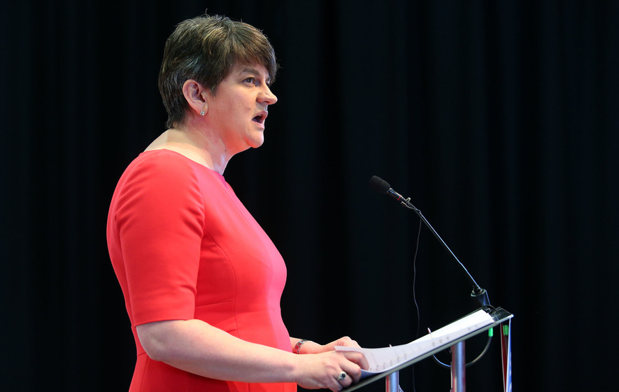 Poll suggests Arlene Foster is 'most untrustworthy and unlikable Northern Ireland party leader'