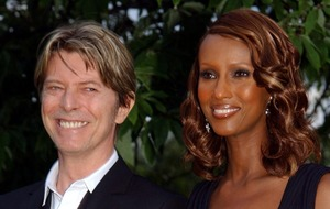 Iman shares picture of late husband David Bowie on 25th wedding anniversary
