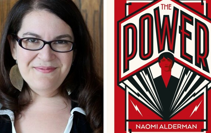 Author Naomi Alderman takes fiction prize for 'brilliantly imagined dystopia'