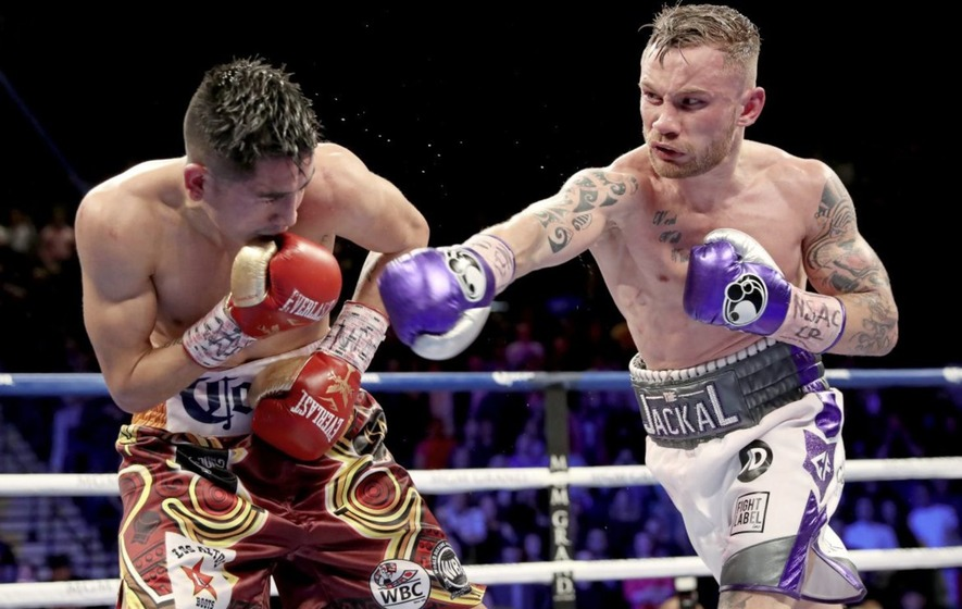 Carl Frampton could make move up to super-feather for Belfast homecoming