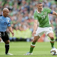 Jonathan Walters sits out Republic of Ireland training ahead of Austria clash
