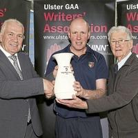 Antrim minor football boss Hugh McGettigan scoops monthly merit award