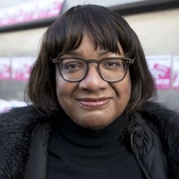 A fundraising page has been set up to send Diane Abbott a care package