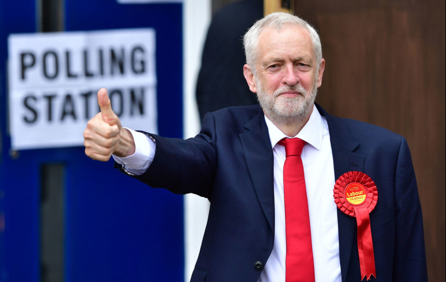 Jarlath Kearney: Positive Corbyn gave negative May a fright