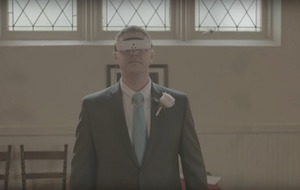 Smart glasses have helped a blind man see his wife and children again