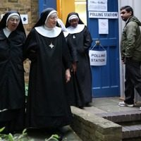 Nuns at polling stations are even purer than #dogsatpollingstations