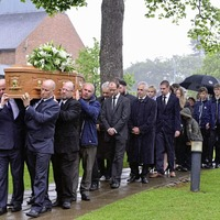 Politicians, scientists and businessmen gather at funeral of Professor Patrick Johnston