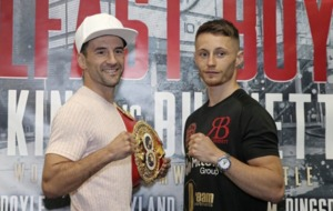 Ryan Burnett hopes to show his nasty side in Lee Haskins world title showdown