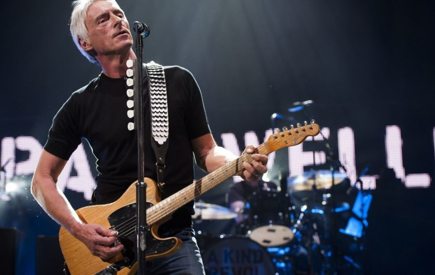 Paul Weller among 41 music giants to sign guitar for Macmillan Cancer Support
