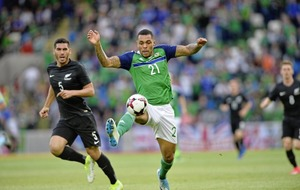 Josh Magennis says getting to Russia would top Euros achievement