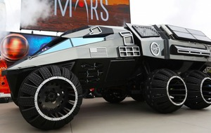 Nasa's futuristic Mars rover concept vehicle looks like something Batman would drive
