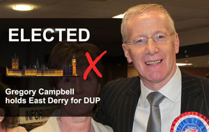 Constituency Profile: Gregory Campbell easily retains seat in East Derry