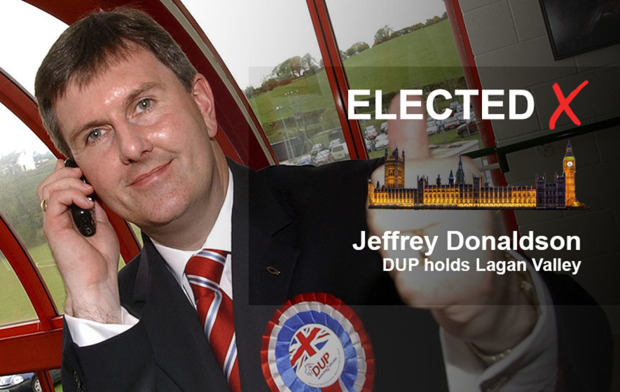 Constituency Profile: Jeffrey Donaldson retains his Lagan Valley seat for the DUP