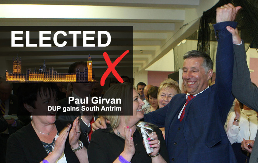 Constituency Profile: DUP's Paul Girvan unseats incumbent UUP MP in South Antrim
