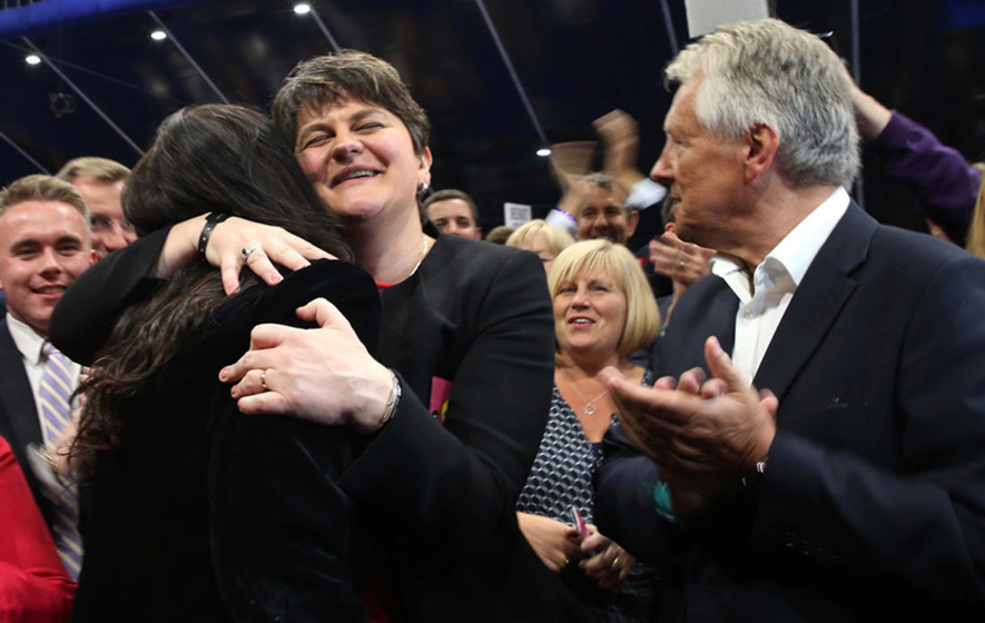 So 'who are the DUP?' was the most asked question on Google