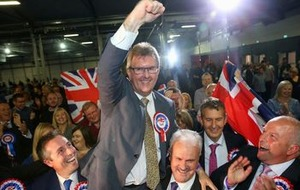 DUP's Jeffrey Donaldson raises hope of deal with Tories but says party is ''no pushover'
