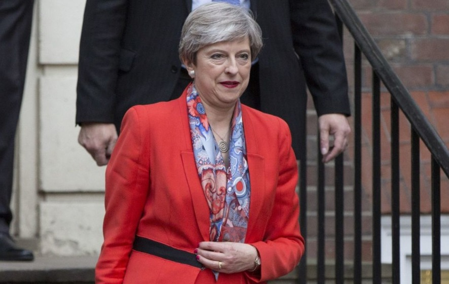 Theresa May faces calls to resign after election shock