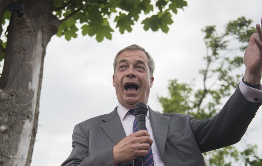Nigel Farage's announcement that he might return to frontline politics hasn't got the best reception