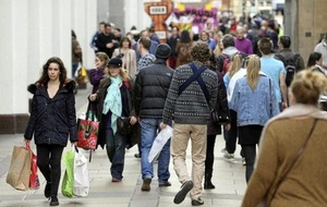 NI footfall grows to highest levels in the UK