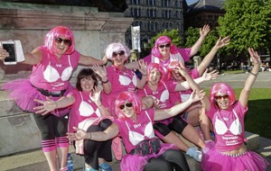 Bras at the ready as Action Cancer walk highlights importance of early breast screening