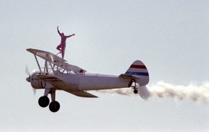 72-year-old takes up wing walking to keep cash flowing for Alzheimer's Society